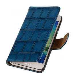 iHoez.nl Croco Samsung Galaxy Grand Prime Blauw