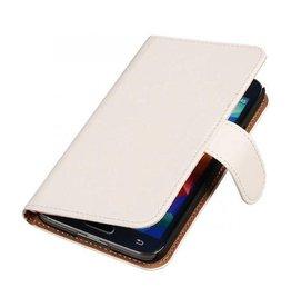 iHoez.nl Effen Samsung Galaxy Note 3 Neo Boekhoesje Wit