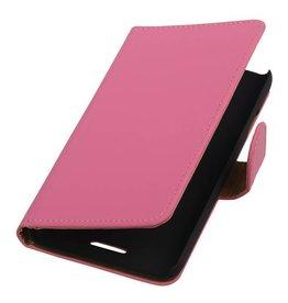 iHoez.nl HTC Desire 320 Hoesje Boek Roze