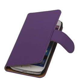iHoez.nl Effen Samsung S4 Mini hoesje Paars