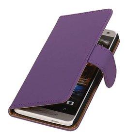 iHoez.nl HTC one M8 Boekhoesje Classic Paars