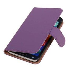 iHoez.nl Effen Bookstyle Samsung S3 hoesje Paars