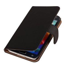 iHoez.nl Effen Bookstyle Samsung S3 hoesje Zwart