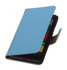 iHoez.nl Effen Microsoft Lumia 640 Boekhoesje Turquoise