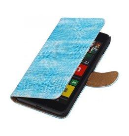iHoez.nl Lizard Lumia 550 hoesje Turquoise