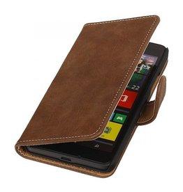 iHoez.nl Bark Lumia 550 hoesje Bruin