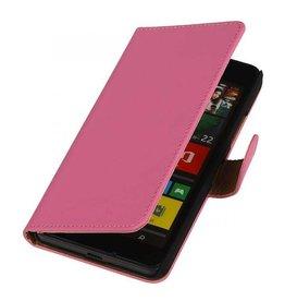 iHoez.nl Effen Lumia 550 hoesje Roze