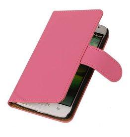iHoez.nl Huawei Ascend Y300 Boekhoesje Roze