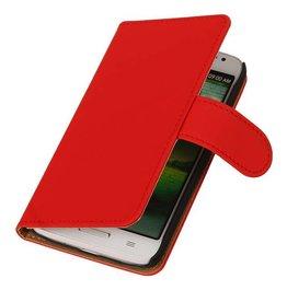 iHoez.nl Huawei Ascend Y300 Boekhoesje Rood