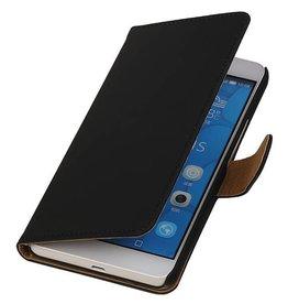 iHoez.nl Huawei Honor 6 Plus Boekhoesje Zwart