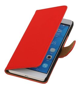 iHoez.nl Huawei Honor 6 Plus Boekhoesje Rood
