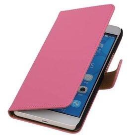 iHoez.nl Huawei Honor 6 Plus Boekhoesje Roze