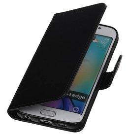 iHoez.nl TPU Samsung Galaxy A3 (2016) Boekhoesje Zwart