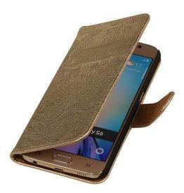 iHoez.nl Lace Samsung Galaxy S7 Boekhoesje Goud