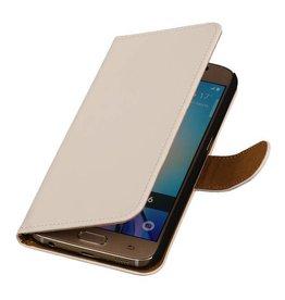 iHoez.nl Samsung Galaxy S7 Boekhoesje Wit