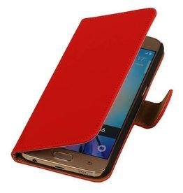 iHoez.nl Samsung Galaxy S7 Boekhoesje Rood