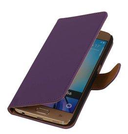 iHoez.nl Samsung Galaxy S7 Boekhoesje Paars