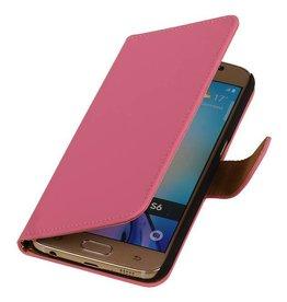 iHoez.nl Samsung Galaxy S7 Boekhoesje Roze