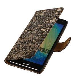iHoez.nl Lace Samsung A7 (2016) hoesje Zwart