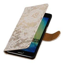 iHoez.nl Lace Samsung A7 (2016) hoesje Wit