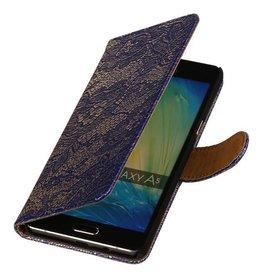 iHoez.nl Lace Samsung A7 (2016) hoesje Blauw