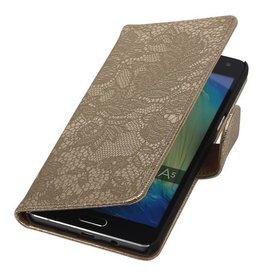 iHoez.nl Lace Samsung A7 (2016) hoesje Goud