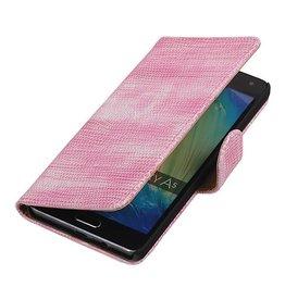 iHoez.nl Lizard Samsung A7 (2016) hoesje Roze
