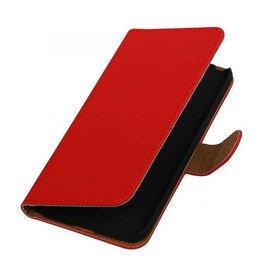 iHoez.nl Microsoft Lumia 650 boekhoesje Rood