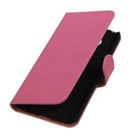 iHoez.nl Microsoft Lumia 650 boekhoesje Roze
