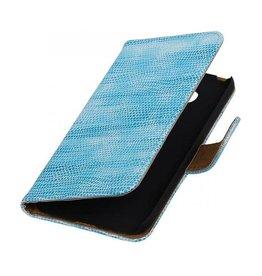 iHoez.nl Lizard Microsoft Lumia 650 boekhoesje Turquoise