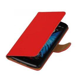 iHoez.nl LG K10 boekhoesje Rood