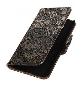 iHoez.nl Lace LG G5 boekhoesje Zwart