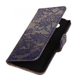 iHoez.nl Lace LG G5 boekhoesje Blauw