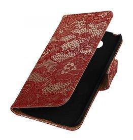 iHoez.nl Lace LG G5 boekhoesje Rood
