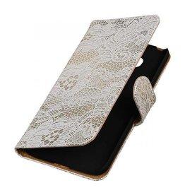 iHoez.nl Lace LG G5 boekhoesje Wit