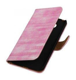 iHoez.nl Lizard LG G5 boekhoesje Roze
