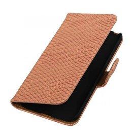 iHoez.nl Snake LG G5 boekhoesje Licht Roze