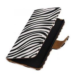 iHoez.nl Zebra LG G5 boekhoesje Wit
