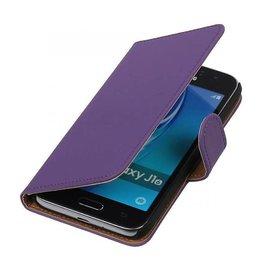 iHoez.nl Samsung Galaxy J1 mini boekhoesje Paars