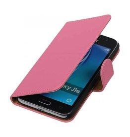 iHoez.nl Samsung Galaxy J1 mini boekhoesje Roze