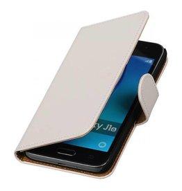 iHoez.nl Samsung Galaxy J1 mini boekhoesje Wit