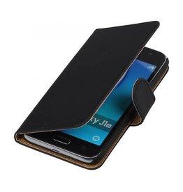 iHoez.nl Samsung Galaxy J1 mini boekhoesje Zwart