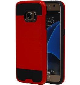 iHoez.nl Tough Armor Samsung Galaxy S7 rood hoesje TPU