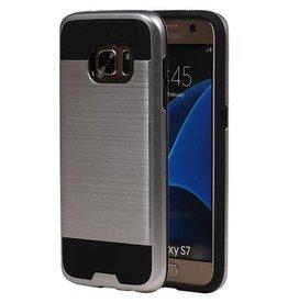 iHoez.nl Tough Armor Samsung Galaxy S7 zilver hoesje TPU