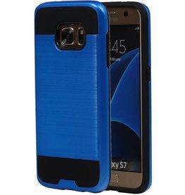 iHoez.nl Tough Armor Samsung Galaxy S7 blauw hoesje TPU