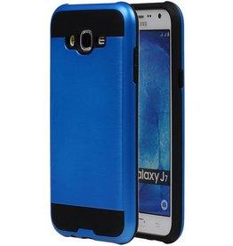 iHoez.nl Tough Armor Samsung Galaxy J7 blauw hoesje TPU