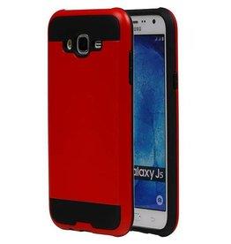 iHoez.nl Tough Armor Samsung Galaxy J5 rood hoesje TPU