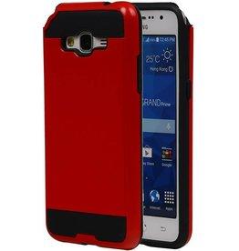 iHoez.nl Tough Armor Samsung Galaxy Grand Prime rood hoesje TPU