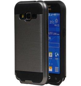 iHoez.nl Tough Armor Samsung Galaxy Grand Prime grijs hoesje TPU