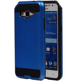iHoez.nl Tough Armor Samsung Galaxy Grand Prime blauw hoesje TPU